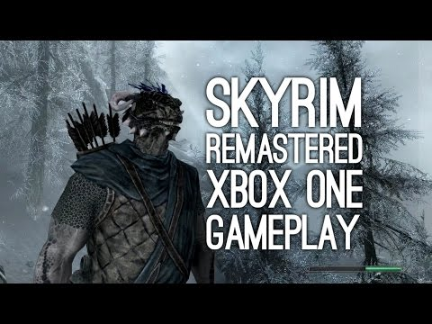 Skyrim Remastered Gameplay on Xbox One: Let's Play Skyrim Special Edition on Xbox One