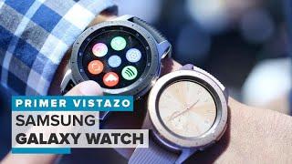 Samsung Galaxy Watch: No es el Gear S4, pero es el nuevo reloj insignia