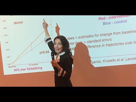 Föreläsning med professor Miia Kivipelto - Livsstil som förebygger demens