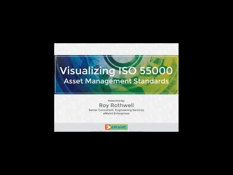 Best Practices Webinar - Visualizing ISO 55000 Asset Management Standards