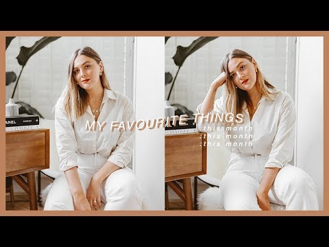 MY FAVOURITE THINGS THIS MONTH   #ICOVETJUNE   I Covet Thee