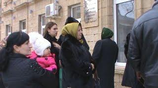 Мэр Дербента не пришел на встречу с протестующими матерями