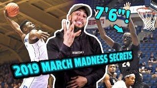 """2019 March Madness Preview!! Zion Williamson, 7'6"""" Tacko Fall, Ja Morant & More 😱"""