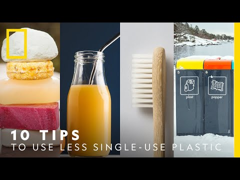 Everyday tips to use less plastic   National Geographic Nordic