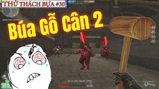 Bình Luận CF [Thử Thách Bựa] #30: Cầm M16 và Búa Gỗ Săn Zombie - Rùa Ngáo