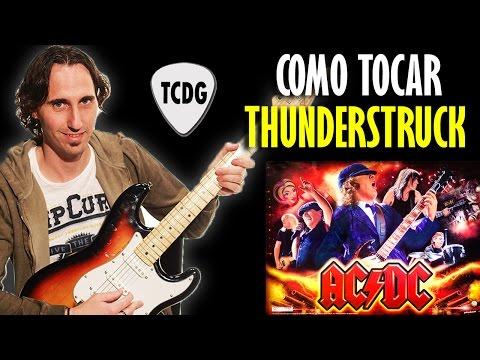 Aprender Como Tocar Thunderstruck En Guitarra Eléctrica (AC/DC) TCDG