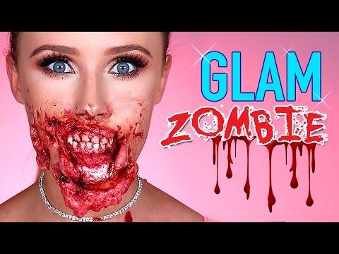GLAM ZOMBIE Halloween Tutorial | Lauren Curtis + Freakmo Collab!