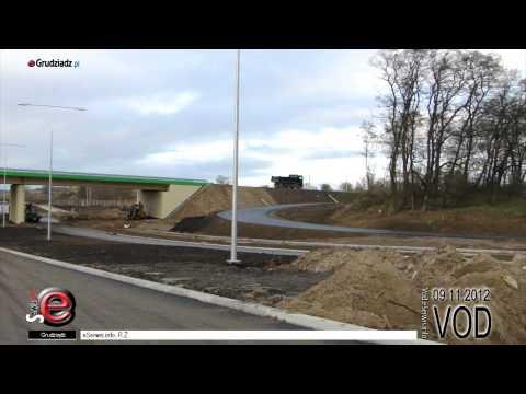 Połączenie Grudziądza z autostradą - prace wykończeniowe