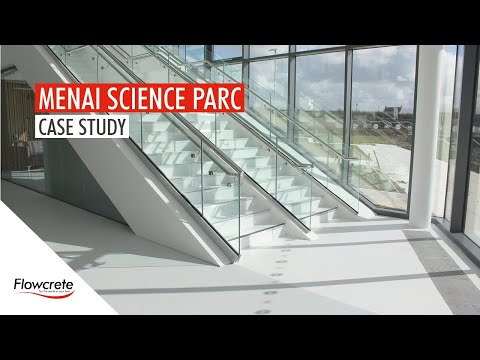 Menai Science Park - FeRFA Award Winning Project - Flowcrete UK