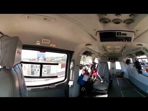 Inside Memorial Hermann Life Flight Helicopter