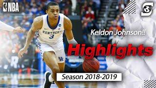 Keldon Johnson Kentucky 2019 Season Highlights