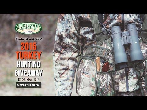 2015 #takeitoutside Turkey Hunt Video
