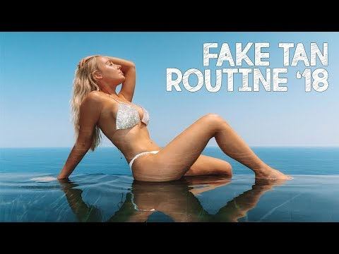 MY 2018 FAKE TANNING ROUTINE | Lauren Curtis