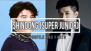(Super Junior) Shindong Profile and Facts [KPOP]