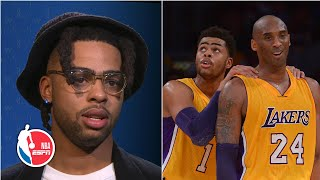 D'Angelo Russell: Playing for Lakers was a blur, but I remember Kobe   NBA on ESPN