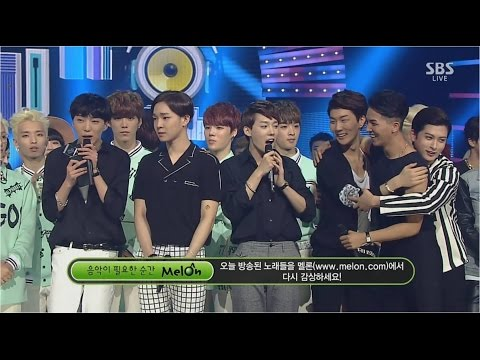 WINNER -'공허해(empty)' 0824 SBS Inkigayo : NO.1 OF THE WEEK