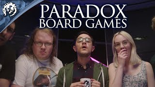 Introducing: Paradox Board Games! -