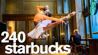 A Photo in Every Starbucks in New York City - Challenge