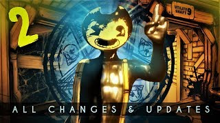 All NEW Changes & Updates in BATIM Chapter 2 Remastered! (Bendy & the Ink Machine Analysis)