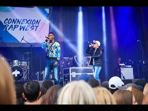 Connexion Rap West på Västerås Cityfestival 2018