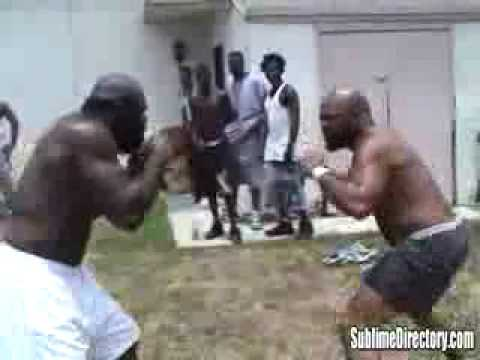 Kimbo Slice Vs. Byrd a. Poster