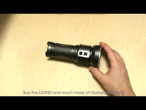 JETBeam DDR30 3200 Lumen Flashlight Extended Review