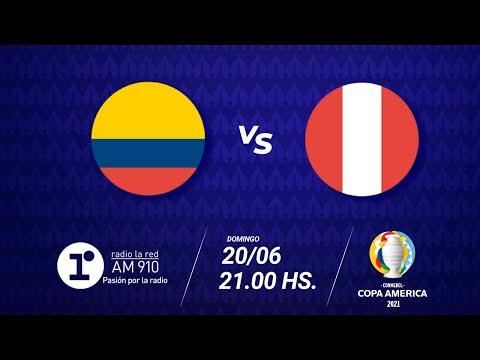 COLOMBIA VS PERÚ - EN VIVO - COPA AMÉRICA 2021