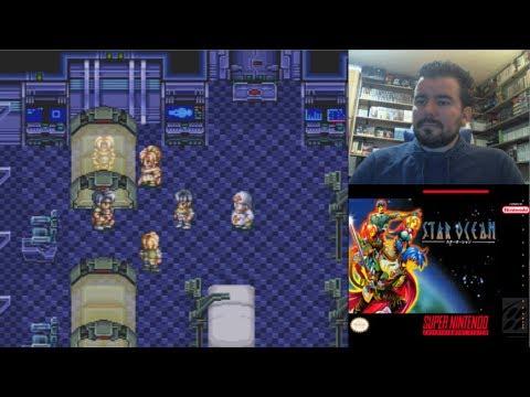STAR OCEAN (Super Nintendo) - El RPG clásico de ciencia ficción    Gameplay SNES en Español