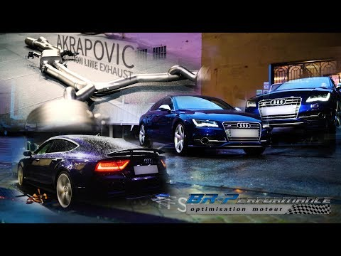 Audi S7 4.0 TFSi Remap Stage 1 By BR-Performance
