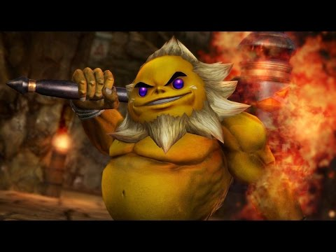 Zelda Hyrule Warriors - Darunia Trailer (Wii U)