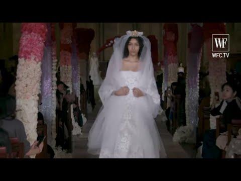 Reem Acra bridal SS2020