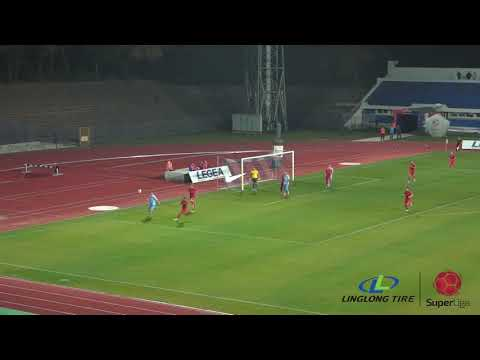 Linglong Tire Super liga 2019/20 - 12.Kolo: SPARTAK ŽK – INĐIJA 3:0 (2:0)