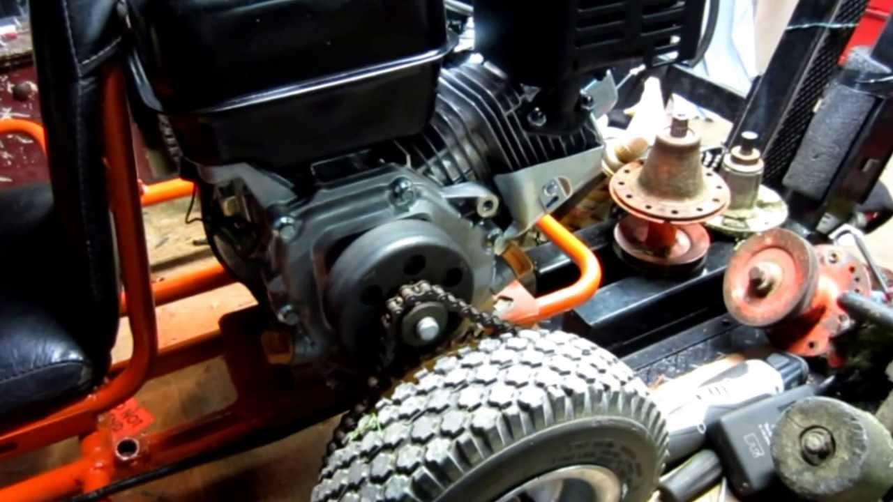 Go Kart Powered By Harbor Freight Predator Engine Youtube