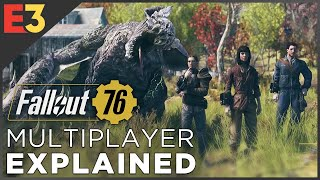Fallout 76: Can You REALLY Play Solo? MULTIPLAYER EXPLAINED! | Polygon @ E3 2018
