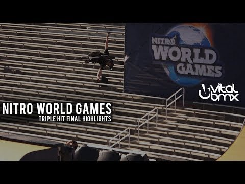 Triple Hit Finals at 2017 Nitro World Games