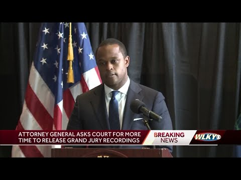 AG Daniel Cameron requests more time to release grand jury recordings