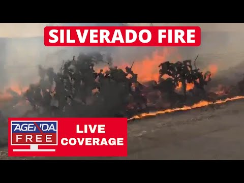 Silverado Fire in Irvine & Blue Ridge Fire in Yorba Linda - LIVE BREAKING NEWS COVERAGE