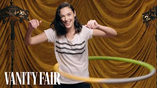 Gal Gadot Shows Off Her Hula Hooping Skills | Secret Talent Theatre | Vanity Fair