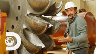 How the Turbines in the Kölnbrein Dam are 92% Efficient   Richard Hammond's Big