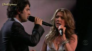 "Celine Dion & Josh Groban Live ""The Prayer"" (HD 720p)"