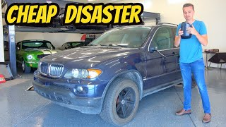 Here's Why You Should NEVER EVER Buy A Cheap BMW X5