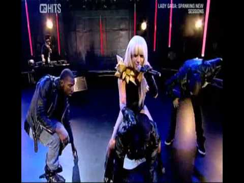 Lady Gaga - Just Dance, Lovegame, Poker Face & Beautiful, Dirty, Rich (Live @ Mtv Uk Sessions).