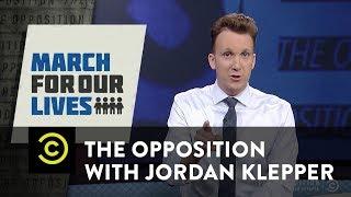 Adult-splaining NRA insult grammar to David Hogg - The Opposition w/ Jordan Klepper