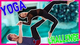 THE YOGA CHALLENGE w/ Liza Koshy | Joey Graceffa