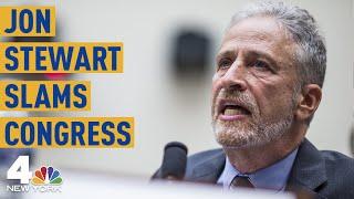 Jon Stewart Rips Congress: The Comedian's Full Testimony on  9/11 First Responders | NBC New York