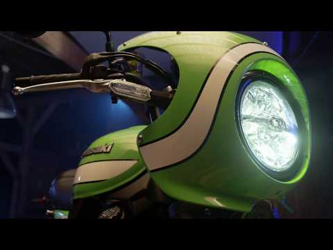 Official Unveiling of the Kawasaki Z900RS CAFE at EICMA 2017