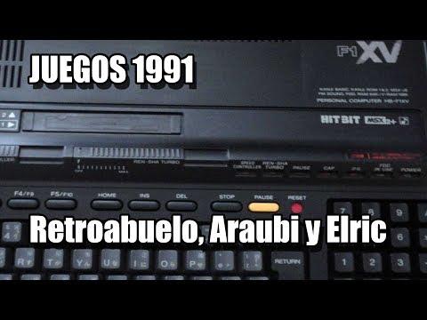 MSX JUEGOS 1991