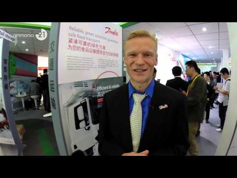 Exclusive interview with Christian Overgaard, President, Danfoss China at China Refrigeration 2014