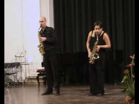 Leclair Sonata - Dúo Zavasax
