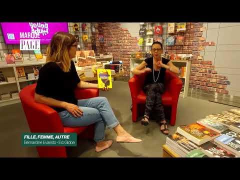 Vidéo de Bernardine Evaristo